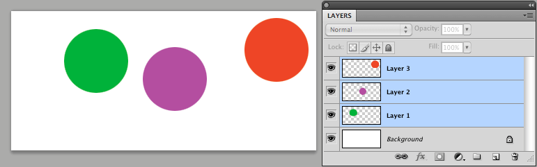 Layers you want to align