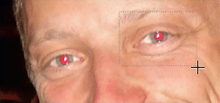 Select red eye