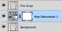 Hue/Saturation Adjustment Layer