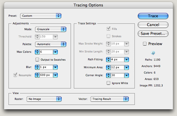 Tracing Options
