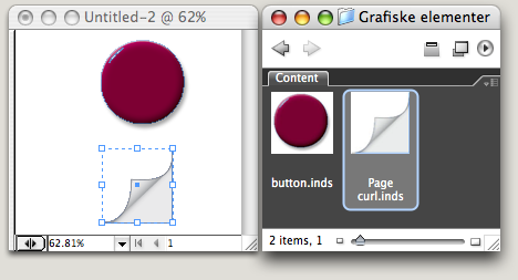 InDesign snippet