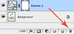 Delete Curves Layer