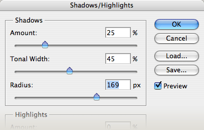 Shadow/Highlights